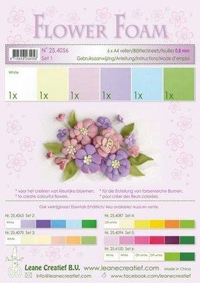 Leane Creatief Flower Foam Assortiment  1 - Pastel 25.4056