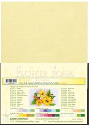 Leane Creatief Flower Foam - Lichtgeel 25.4131