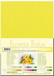 Leane Creatief Flower Foam - Heldergeel 25.4148