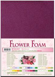 Leane Creatief Flower Foam - Bordeaux 25.4247