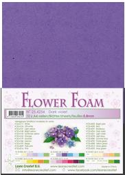 Leane Creatief Flower Foam - Donkerpaars 25.4254