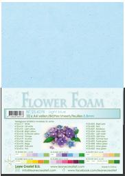 Leane Creatief Flower Foam - Lichtblauw 25.4278