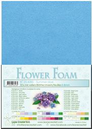 Leane Creatief Flower Foam - Zomerblauw 25.4285