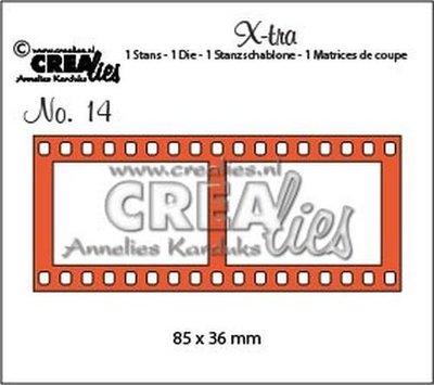 Crealies X-tra 14