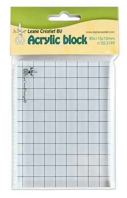 Acrylblok Leane Creatief - 85 x 115 mm 55.2199