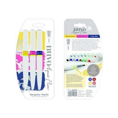 Nuvo Aqua Flow Pens - Sunrise Party 896N
