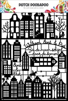 Dutch Doobadoo Paper Art - Sinterklaas 472.950.005 SALE