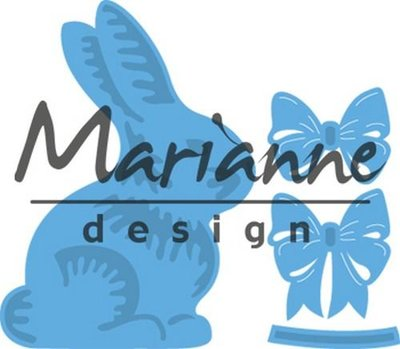 Marianne Design Creatable - Easter Bunny with Bow LR0519