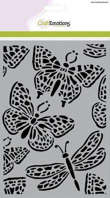 CraftEmotions Mask - Vlinder groot