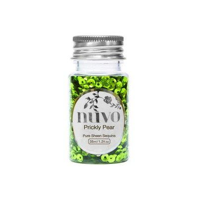 Nuvo Pure Sheen Sequins - Prickly Pear 1140N