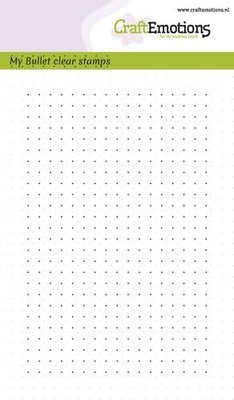 CraftEmotions Clearstamp Bullet Journaling - Bullet Dots