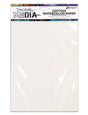 Ranger Cotton Watercolor Paper MDJ59646
