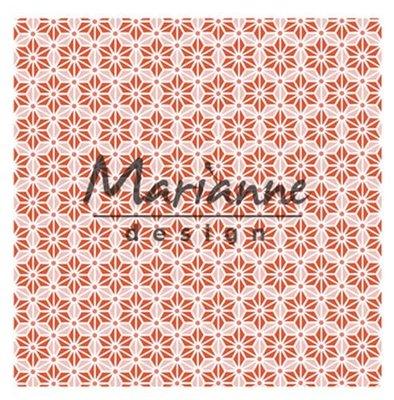 Marianne Design Embossing Folder - Japanese Star DF3445