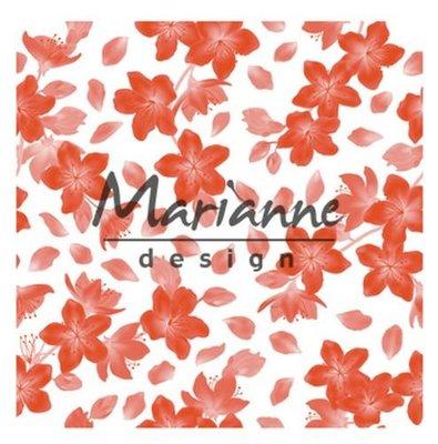 Marianne Design Embossing Folder - Blossom DF3446
