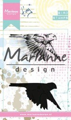 Marianne Design Cling Stempel - Birds 1 MM1618