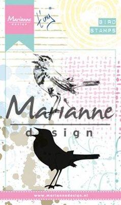 Marianne Design Cling Stempel - Birds 2 MM1619
