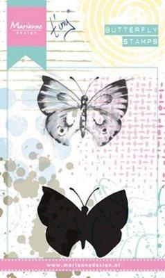 Marianne Design Cling Stempel - Vlinders 1 MM1613