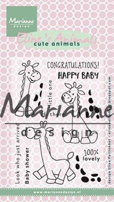 Marianne Design Stempel - Giraffe EC0169
