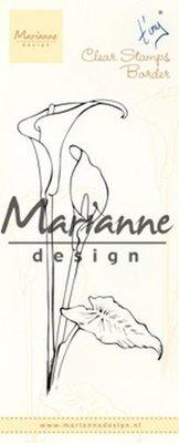 Marianne Design Stempel - Border Callas TC0864