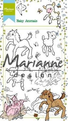 Marianne Design Stempel - Baby Animals HT1630