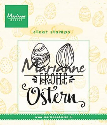 Marianne Design Stempel - Frohe Ostern CS1002