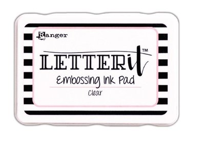 Ranger Embossing Pad Letter It LEI58809