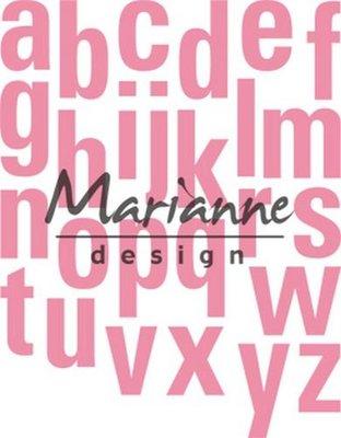 Marianne Design Collectable - Alphabet XL COL1449
