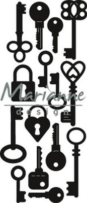Marianne Design Craftable - Punch Die Keys CR1435