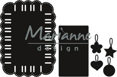 Marianne Design Craftable - Ribbon Rectangle CR1436