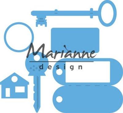 Marianne Design Creatable - Sleutelhanger LR0523