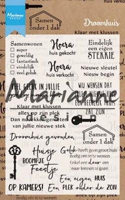 Marianne Design Stempel - Droomhuis CS1004