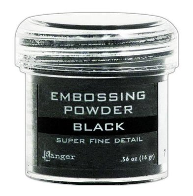 Ranger Embossing Poeder Super Fine - Black EPJ37392