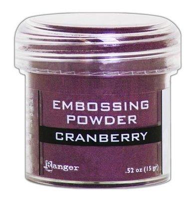 Ranger Embossing Poeder Metallic - Cranberry EPJ60352