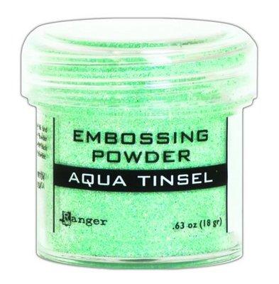 Ranger Embossing Poeder - Aqua Tinsel EPJ60413