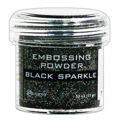 Ranger Embossing Poeder - Black Sparkle EPJ37460