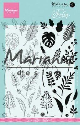 Marianne Design Stempel - Folia KJ1723