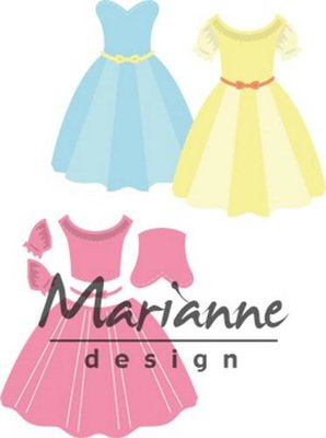 Marianne Design Collectable - Dress COL1452