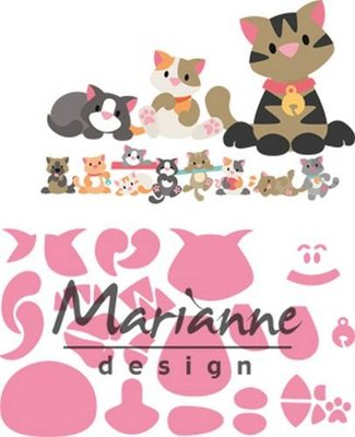 Marianne Design Collectable - Eline's Kitten COL1454