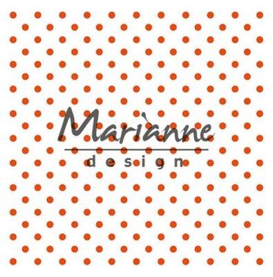 Marianne Design Embossing Folder - Polka Dots DF3447