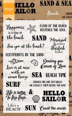 Marianne Design Stempel - Beach Sentiments CS1007