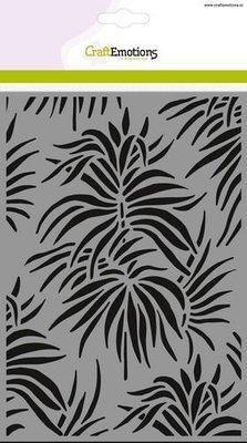 CraftEmotions Mask - Tropische Bladeren Achtergrond