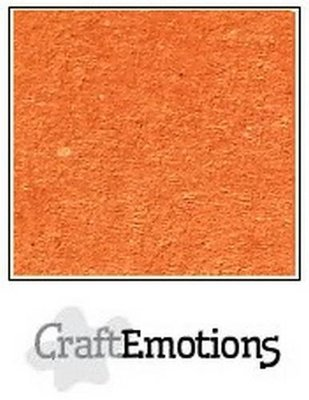 CraftEmotions Karton Kraft A4 - Gravel Rood