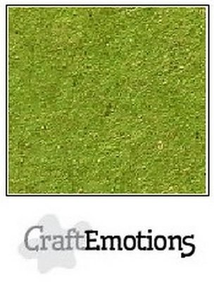 CraftEmotions Karton Kraft A4 - Emerald Groen