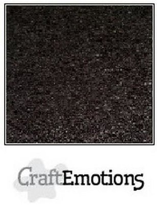 CraftEmotions Karton Kraft A4 - Zwart
