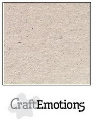 CraftEmotions Karton Kraft A4 - Krijtwit