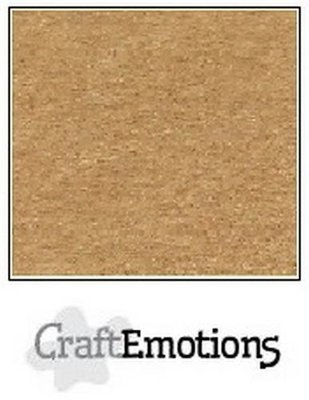 CraftEmotions Karton Kraft A4 - Lichtbruin