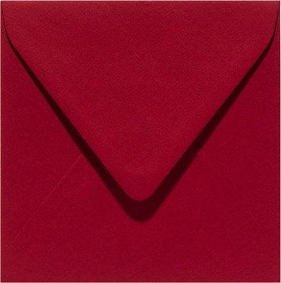 Papicolor Envelop Original 14 x 14 cm - Kerstrood 303943