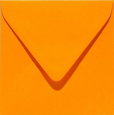 Papicolor Envelop Original 14 x 14 cm - Oranje 303911
