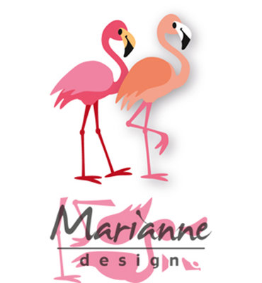 Marianne Design Collectable - Flamingo's COL1456