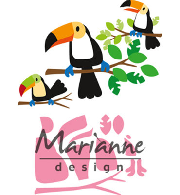 Marianne Design Collectable - Toekan COL1457
